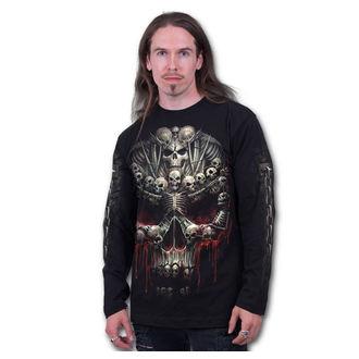 tričko pánske s dlhým rukávom SPIRAL - Death Bones