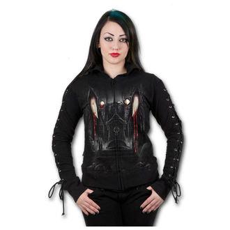 mikina dámska SPIRAL - Vamp Fangs - Black, SPIRAL