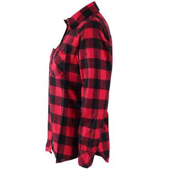 košele dámska ROTHCO - PLAID - RED, ROTHCO