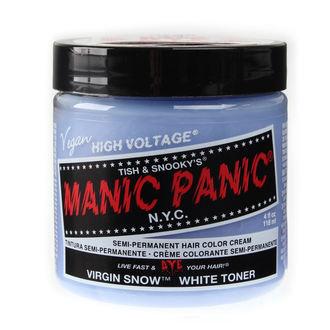 farba na vlasy MANIC PANIC - Classic - Virgin Snow, MANIC PANIC