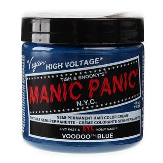 farba na vlasy MANIC PANIC - Classic - Voodoo Blue, MANIC PANIC