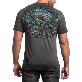 tričko pánske AFFLICTION - Apache Freedom - BKGE, AFFLICTION