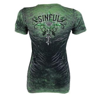 tričko dámske AFFLICTION - Sinful Undying - BBDA, AFFLICTION