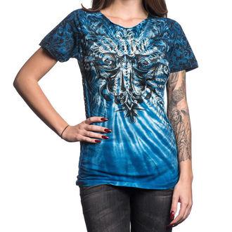 tričko dámske AFFLICTION - Cypress - HOSR, AFFLICTION