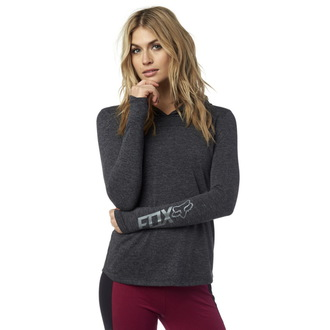 tričko dámske s dlhým rukávom FOX - Instant - Black, FOX