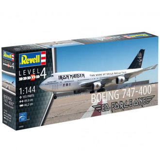 model Iron Maiden - Model Kit 1/144 Boeing 747-400, Iron Maiden