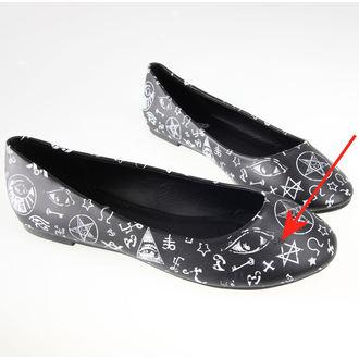 topánky dámske (balerína) BANNED - BND020BLK - POŠKODENÉ, BANNED