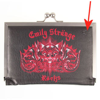 peňaženka EMILY THE STRANGE - Emily (E4081502) Kitty Head - POŠKODENÁ, EMILY THE STRANGE
