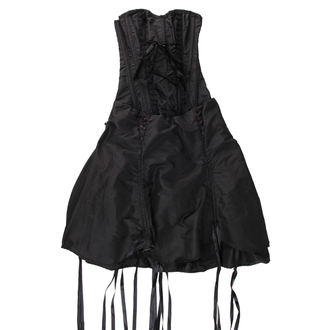 šaty dámske Burlesky - Black - POŠKODENÉ