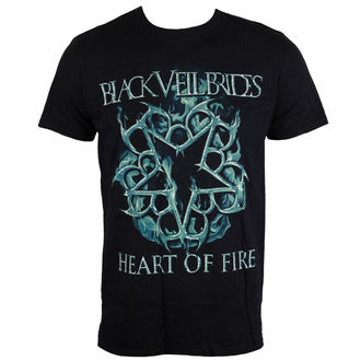 tričko pánske Black Veil Brides - Heart Of Fire - Black - LIVE NATION, LIVE NATION, Black Veil Brides