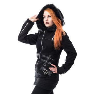 kabát dámsky HEARTLESS - SARA - BLACK, HEARTLESS