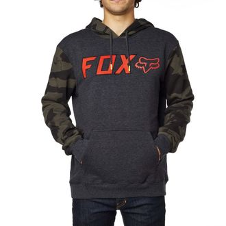 mikina pánska FOX - Diskors Fleece - Heather Black, FOX