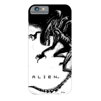 kryt na mobil Alien - iPhone 6 Plus Xenomorph Black & White Comic, Alien - Vetřelec