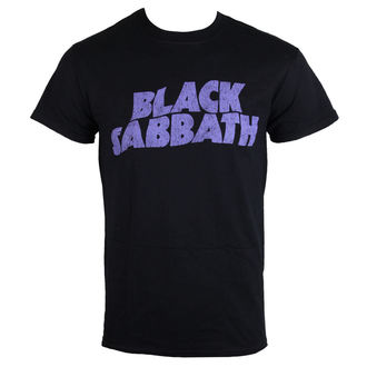 tričko pánske Black Sabbath - Wavy Logo - ROCK OFF, ROCK OFF, Black Sabbath