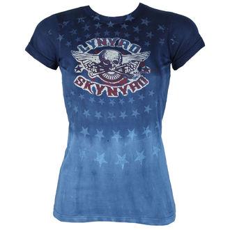 tričko dámske Lynyrd Skynyrd - Skynyrd Stars Tie-Dye Juniors - LIQUID BLUE, LIQUID BLUE, Lynyrd Skynyrd