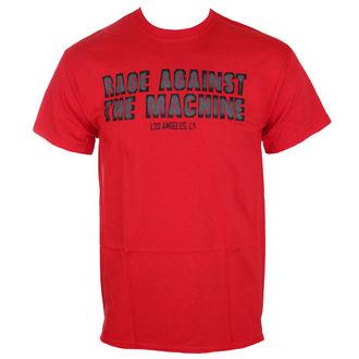 tričko pánske Rage Against The Machine - Smashed Red - ATMOSPHERE, Rage against the machine