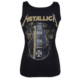 tielko dámske Metallica - Hetfield Iron Cross Guitar - Black - ATMOSPHERE, Metallica