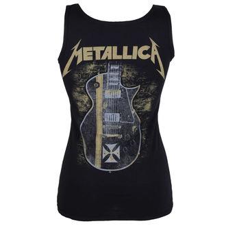 tielko dámske Metallica - Hetfield Iron Cross Guitar - Black - ATMOSPHERE - PRO053