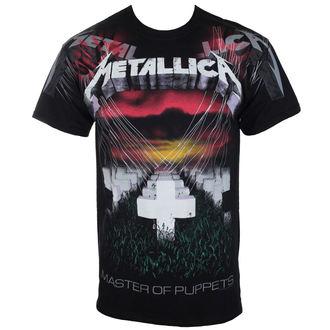 tričko pánske Metallica - Puppets - Black - ATMOSPHERE - RTMTL033-03