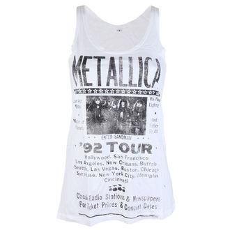 tielko pánske Metallica - 92 Poster White - ATMOSPHERE - RTMTL094