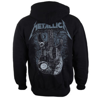 mikina pánska Metallica - Kirk Hammet Ouija Guitar Black - ATMOSPHERE, NNM, Metallica