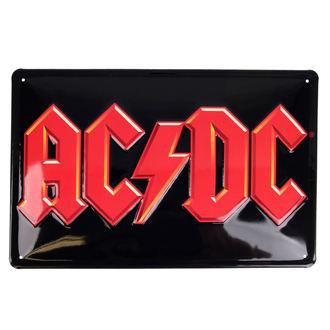 ceduľa AC/DC - Logo, AC-DC
