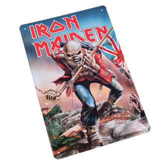 ceduľa Iron Maiden - The Trooper, Iron Maiden
