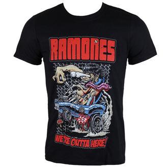 tričko pánske Ramones - Outta Here - ROCK OFF, ROCK OFF, Ramones