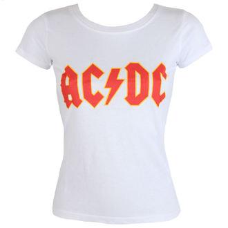 tričko dámske AC/DC - Classic Logo - ROCK OFF, ROCK OFF, AC-DC