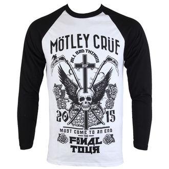tričko pánske s dlhým rukávom Mötley Crüe - Final Tour Tattoo - ROCK OFF, ROCK OFF, Mötley Crüe