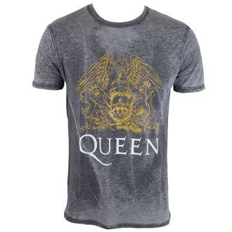 tričko pánske Queen - Crest - ROCK OFF, ROCK OFF, Queen