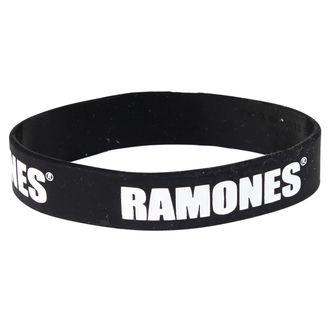 náramok Ramones - Logo Gummy Band - ROCK OFF, ROCK OFF, Ramones