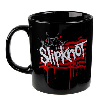 hrnček Slipknot - Dripping Flag And Logo - ROCK OFF, ROCK OFF, Slipknot
