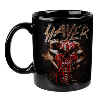 hrnček Slayer - Skull Clench - ROCK OFF, ROCK OFF, Slayer
