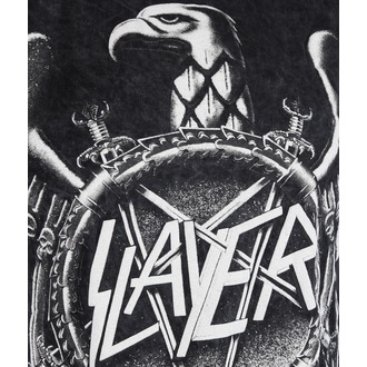 tričko pánske Slayer - Hi Contrast Eagle Puff Print - ROCK OFF, ROCK OFF, Slayer