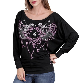 tričko dámske s dlhým rukávom HYRAW - Mandala, HYRAW