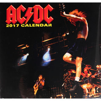 kalendár na rok 2017 - AC/DC, AC-DC