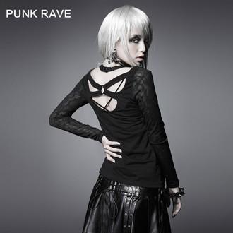tričko dámske s dlhým rukávom PUNK RAVE - Black Metal, PUNK RAVE