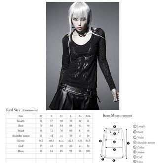 tričko dámske s dlhým rukávom PUNK RAVE - Black Metal - T-324 B ... a9bd37c58f
