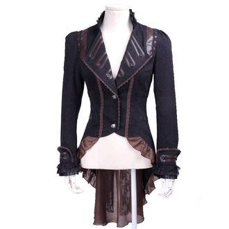 kabátik (sako) dámsky PUNK RAVE - UMBRA - BROWN