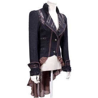 kabátik (sako) dámsky PUNK RAVE - UMBRA - BROWN, PUNK RAVE