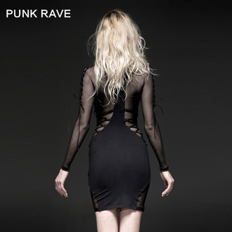 šaty dámske PUNK RAVE - Fatal Kiss, PUNK RAVE