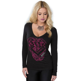 tričko dámske s dlhým rukávom METAL MULISHA - Protect, METAL MULISHA