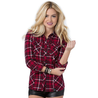 košele dámska s dlhým rukávom METAL MULISHA - Genevieve - FA6704000.01_RED