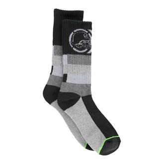 ponožky METAL MULISHA - Maze - FA6587000.01_BLK