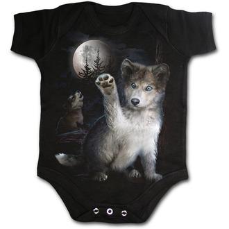 body detské SPIRAL - WOLF PUPPY, SPIRAL