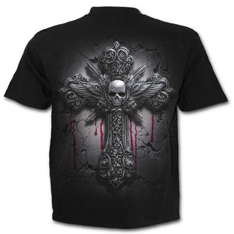 tričko pánske SPIRAL - DEAD HAND - Black - M022M101