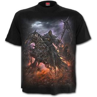 tričko pánske SPIRAL - 4 HORSEMEN - Black