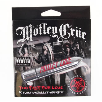 vibrátor Motley Crue - Too Fast For Love 10 - Platiaci HEAD, PLASTIC HEAD, Mötley Crüe