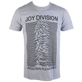 tričko pánske Joy Division - Unknown Pleasures - Grey - PLASTIC HEAD, PLASTIC HEAD, Joy Division